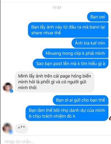 Co gai Vinh Phuc khon don vi bi nham la nhan vat trong clip sex - Anh 4