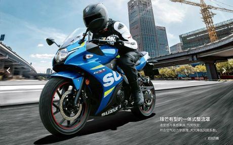 Suzuki GSX-R250 2017 ra mat manh 25 ma luc, 23 Nm - Anh 1