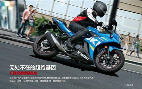 Suzuki GSX-R250 2017 ra mat manh 25 ma luc, 23 Nm - Anh 2