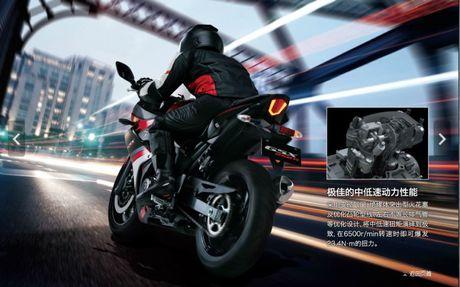 Suzuki GSX-R250 2017 ra mat manh 25 ma luc, 23 Nm - Anh 3