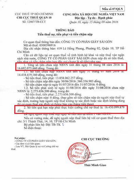 Cong ty Giay Sai Gon cho thue dat trai phep: Thanh tra Thanh pho vao cuoc - Anh 2