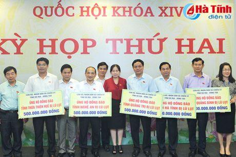 Ba Ria - Vung Tau ung ho nhan dan vung lu Ha Tinh 500 trieu dong - Anh 3