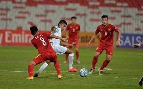 U19 Viet Nam - U19 Iraq: Phong thu kien cuong - vao tu ket U19 chau A - Anh 1
