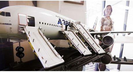 A380 - canh bac kho thang cua Airbus - Anh 1