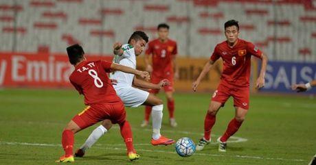 U19 Viet Nam vao tu ket giai vo dich U19 CHAU A - Anh 1