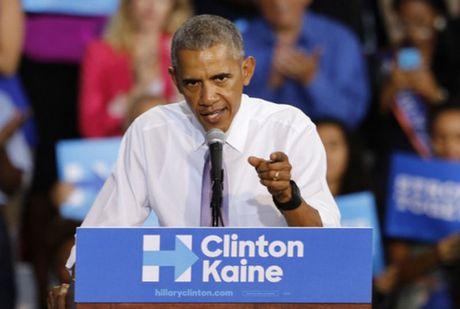Obama goi phat ngon cua Trump ve bau cu tong thong la 'nguy hiem' - Anh 1