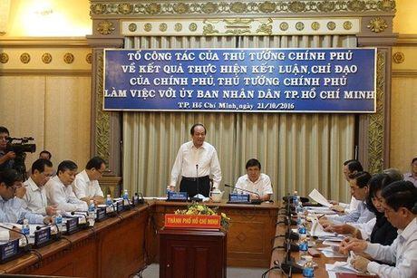To cong tac cua Thu tuong Chinh phu de nghi: TPHCM no luc giam thieu o nhiem moi truong, un tac giao thong - Anh 1