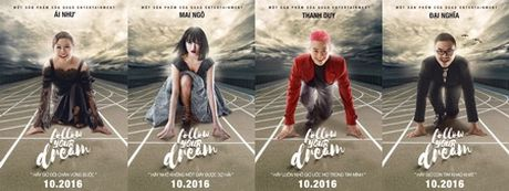 Thanh Duy tung MV 'Follow Your Dream' quy tu nhieu ngoi sao khung - Anh 1