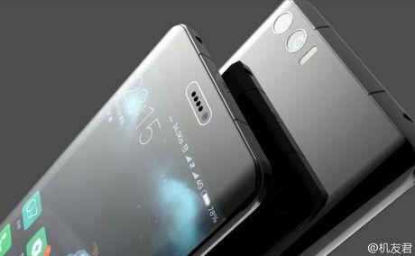 Xiaomi Mi Note 2 dep ngang ngua Galaxy Note 7? - Anh 2