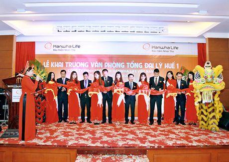 Hanwha Life Viet Nam khai truong 2 van phong Tong dai ly o Hue - Anh 1