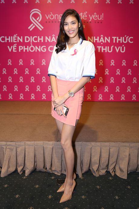 Lan Khue roi nuoc mat khi lam dai su chong ung thu vu - Anh 2
