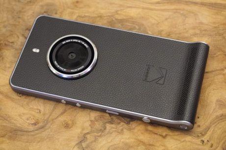 Kodak Ektra - smartphone phong cach may anh co dien - Anh 1