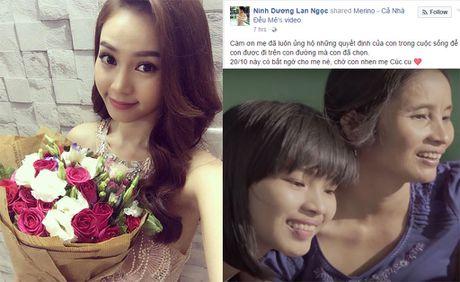 Ninh Duong Lan Ngoc xuc dong truoc qua tang me cua nu sinh vien ngheo - Anh 1