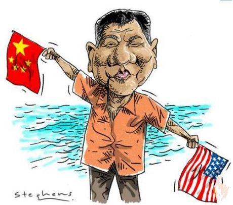 Duterte muon cung Trung Quoc va Nga thong tri the gioi - Anh 1
