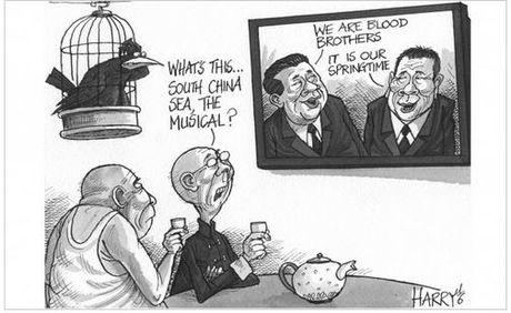 Duterte muon cung Trung Quoc va Nga thong tri the gioi - Anh 2