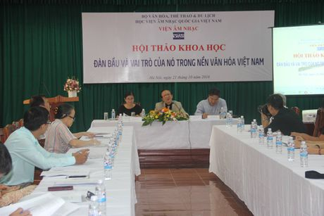Chuan bi ho so de nghi UNESCO cong nhan Dan Bau la di san the gioi - Anh 1