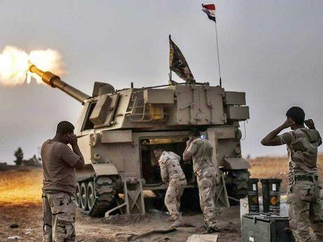 Bon dau so IS da nhanh chan thao chay khoi TP Mosul - Anh 1