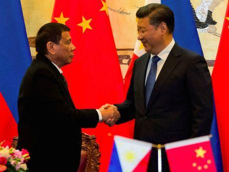 Philippines lai dinh chinh tuyen bo 'cat dut' voi My - Anh 1