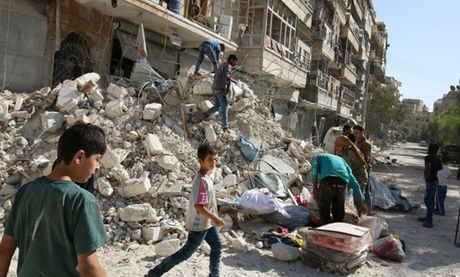 Nga bao ve lenh ngung ban nhan dao o Aleppo - Anh 1