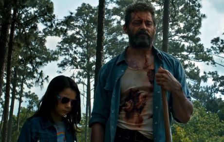 Hugh Jackman gia nua o trailer dau tien cua 'Wolverine 3' - Anh 2