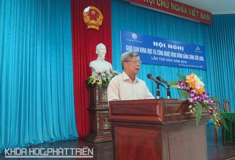 Dong bang Song Cuu Long ban chuyen ung dung khoa hoc phat trien vung - Anh 1
