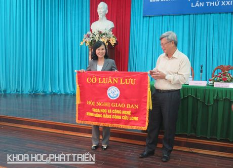 Dong bang Song Cuu Long ban chuyen ung dung khoa hoc phat trien vung - Anh 4