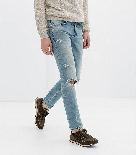 'Nong mat' voi mot quan jeans rach cua gioi tre - Anh 9