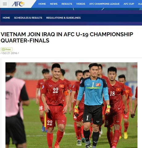 AFC: 'U19 Viet Nam manh me va mau lua' - Anh 1