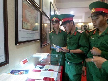 Trien lam Truong Sa, Hoang Sa tai Quan doan 3 - Anh 1