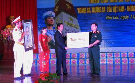 Trien lam Truong Sa, Hoang Sa tai Quan doan 3 - Anh 2