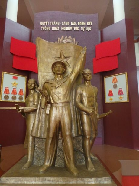 Trien lam Truong Sa, Hoang Sa tai Quan doan 3 - Anh 6