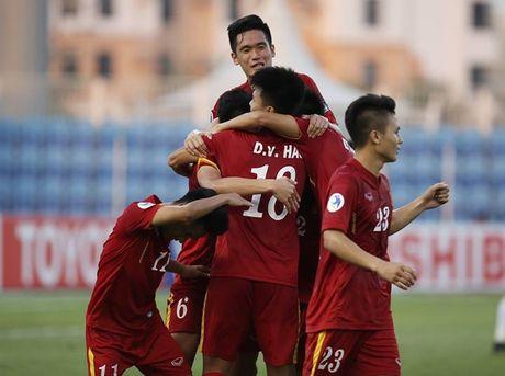 Ket qua tran U19 Viet Nam - U19 Iraq - Anh 1