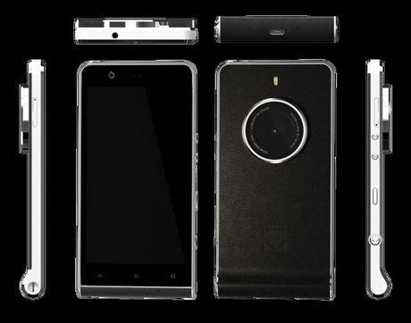 Kodak Ektra - smartphone danh cho dan anh, gia 520 USD - Anh 1