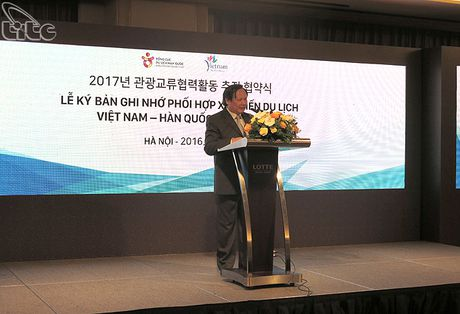 Viet Nam - Han Quoc tang cuong hop tac phat trien du lich - Anh 2