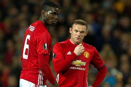 Paul Pogba da xin Wayne Rooney nhuong quyen da 11m - Anh 1