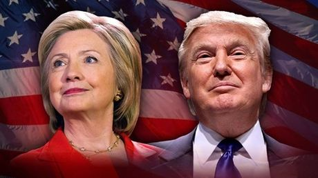 Dang trong buoi tu thien, Trump - Clinton ngang nhien cong kich nhau - Anh 2