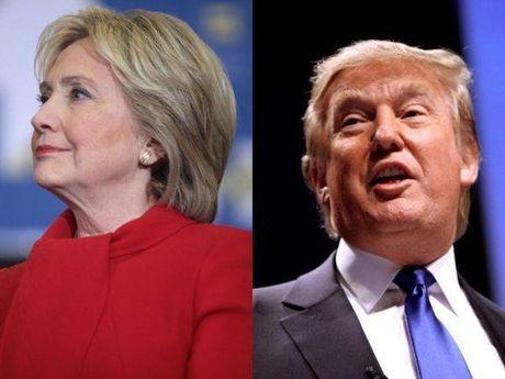 Dang trong buoi tu thien, Trump - Clinton ngang nhien cong kich nhau - Anh 3