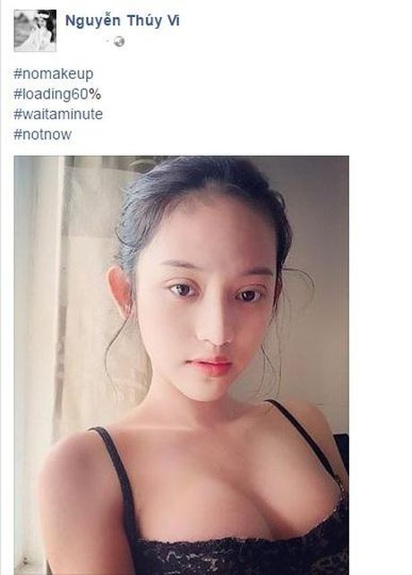 Tinh day sau 'tu tu', Thuy Vi bong xinh dep hon boi phan - Anh 1
