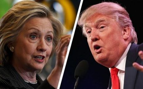 Ba Hillary Clinton tiep tuc thang trong lan tranh luan cuoi cung - Anh 1