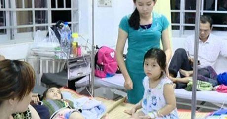 Vinh Long: Suc khoe cua 95 tre nghi ngo doc thuc pham da on dinh - Anh 1