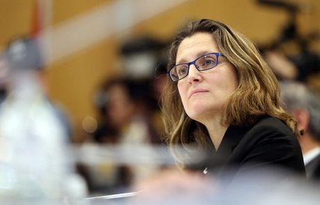 Bo truong Freeland: EU khong the ky ket CETA voi Canada - Anh 1