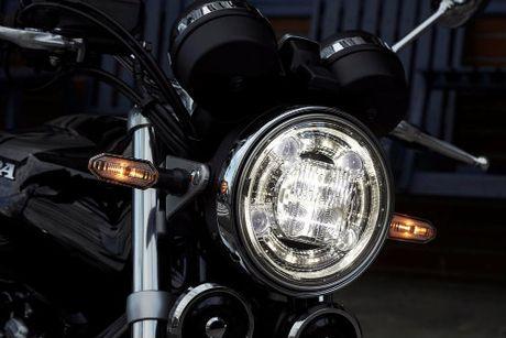 Honda CB1100RS ket hop hai hoa co dien va the thao - Anh 2