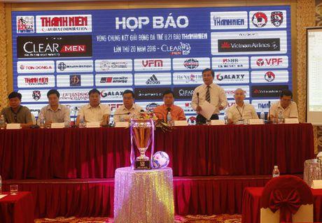 Hop bao VCK Giai bong da U21 quoc gia Bao Thanh Nien 2016 - Anh 1