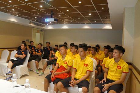 Lam nen lich su, U19 Viet Nam khong quen dong bao mien Trung - Anh 1