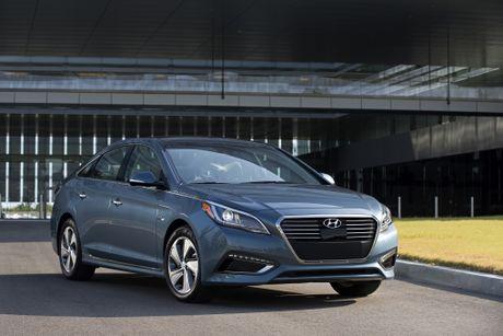 Hyundai trieu hoi hang trieu xe Sonata va Sonata Hybrid - Anh 1