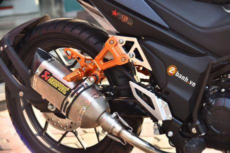 Honda Winner 150 'do khung' phong cach RepSol tai VN - Anh 4