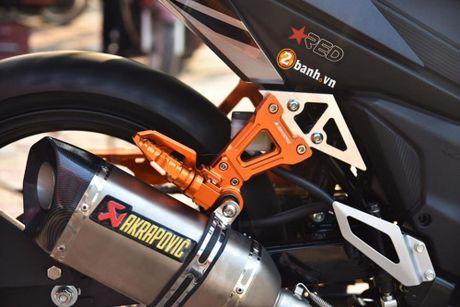 Honda Winner 150 'do khung' phong cach RepSol tai VN - Anh 5