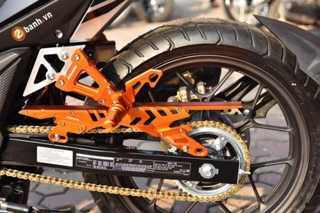 Honda Winner 150 'do khung' phong cach RepSol tai VN - Anh 6