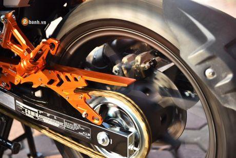 Honda Winner 150 'do khung' phong cach RepSol tai VN - Anh 7