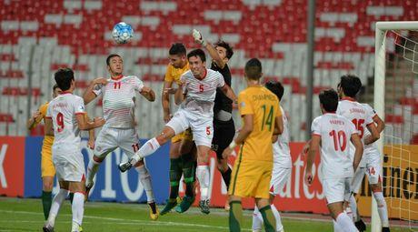 Da hong penalty, U19 Australia cay dang chia tay vong chung ket U19 chau A - Anh 1